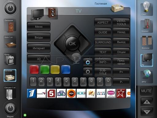 управление ТВ