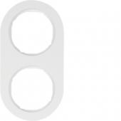 Рамка, R.classic, 2-местная, цвет: полярная белизна 10122089