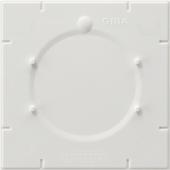Центральная панель с замком к жалюзийному замочному выключателю, Modul 2, цвет: белый, глянцевый 108102