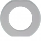 Стеклянная промежуточная рамка, Serie Glas, прозрачная 109300