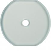 Промежуточная накладка из стекла для поворотных выключателей, Serie Glas, прозрачная 1095