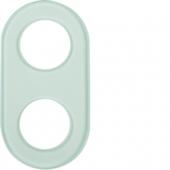 Стеклянная рамка, 2-местная, Serie Glas, прозрачная 1102