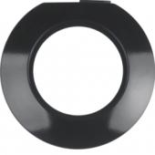 Оконечная рамка, Serie 1930, цвет: черный, глянцевый 138141