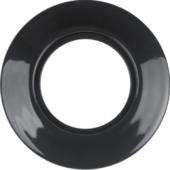 Керамическая рамка, Serie 1930 Porzellan made by Rosenthal, 1-местная, цвет: черный, глянцевый  138165