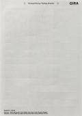 Листы для надписи для наружного домофона 3-местное 145900