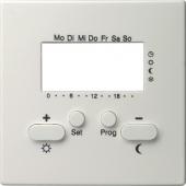 Накладка для регулятора температуры пола с часами 146940