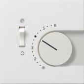 Накладка для термостатов с пов. ручкой и контр. лампой 1492112