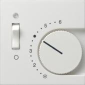 Накладка для термостатов с пов. ручкой и контр. лампой 1492111