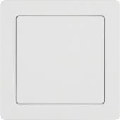 Блок питания от сети с рамкой, Q.1, цвет: полярная белизна, с эффектом бархата 52046089