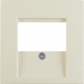 Центральная панель для розетки TDO, S.1, цвет: белый, глянцевый 6810338982