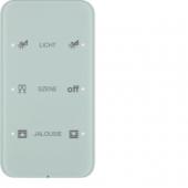 Touch Sensor «Комфорт», 3-канальный, с шинным соединителем, R.1, сконфигурирован, цвет: полярная белизна 75143160