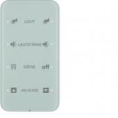 Touch Sensor «Комфорт», 4-канальный, с шинным соединителем, R.1, сконфигурирован, цвет: полярная белизна 75144160
