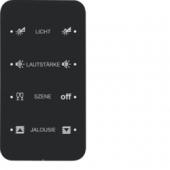 Touch Sensor «Комфорт», 4-канальный, с шинным соединителем, R.1, сконфигурирован, цвет: черный 75144165