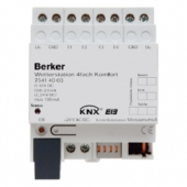 Метеостанция «Комфорт», 4-канальная, REG цвет: светло-серый instabus KNX/EIB 75414003