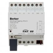 Аналоговый вход, 4-канальный, REG цвет: светло-серый instabus KNX/EIB 75414004