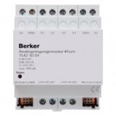 Входной аналоговый 4-канальный модуль REG цвет: светло-серый instabus KNX/EIB 75424004