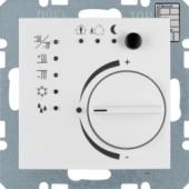 Регулятор температуры с кнопочным интерфейсом, S.1, цвет: полярная белизна, глянцевый 75441159