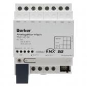 Аналоговое исполнительное устройство, 4канальное, REG цвет: светло-серый instabus KNX/EIB 75514001