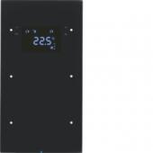 Touch Sensor, 2-канальный с регулятором температуры помещения, R.3, цвет: черный 75642055