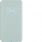 Touch Sensor, 2-канальный с регулятором температуры помещения, R.1, цвет: полярная белизна 75642060