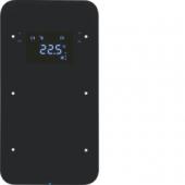 Touch Sensor, 2-канальный с регулятором температуры помещения, R.1, цвет: черный 75642065