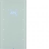 Touch Sensor, 3-канальный с регулятором температуры помещения, R.3, цвет: полярная белизна 75643050