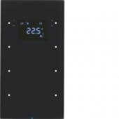 Touch Sensor, 3-канальный с регулятором температуры помещения, R.3, цвет: черный 75643055