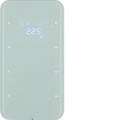 Touch Sensor, 3-канальный с регулятором температуры помещения, R.1, цвет: полярная белизна 75643060