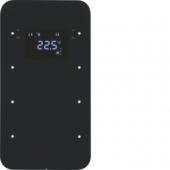 Touch Sensor, 3-канальный с регулятором температуры помещения, R.1, цвет: черный 75643065
