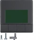 Информационные дисплеи, Q.1/Q.3, цвет: антрацитовый, с эффектом бархата 75860026