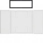 Поле для надписи для 1-, 2- и 3-канальных клавишных сенсоров B.IQ поверхность: бесцветная, прозрачная B.IQ 75900080