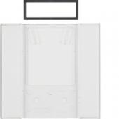 Поле для надписи для 5-канальных клавишных сенсоров B.IQ поверхность: бесцветная, прозрачная B.IQ 75900082