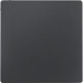 Заглушка, Q.1/Q.3, цвет: антрацитовый, с эффектом бархата 75940226