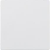 Заглушка, Q.1/Q.3, цвет: полярная белизна, с эффектом бархата 75940229