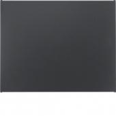 Заглушка, K.1, цвет: антрацитовый, матовый 75940275