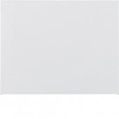 Заглушка, K.1, цвет: полярная белизна, глянцевый 75940279