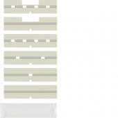 Поле для надписи с защитной пластиной поверхность: бесцветная, прозрачная, Arsys 75960003