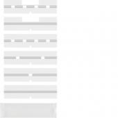 Поле для надписи с защитной пластиной, Arsys, цвет: серый, прозрачный 75960004