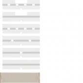 Поле для надписи с защитной пластиной, Arsys, цвет: коричневый, прозрачный 75960005