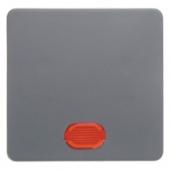 Клавиша в комплекте с 5 линзами цвет: серый Aquatec IP44 75991100
