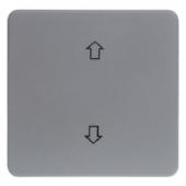 Перекидной выключатель с оттиском «Стрелки», цвет: серый, Aquatec IP44 75991200