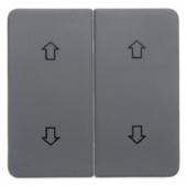 Клавиши с оттиском «Стрелки», цвет: серый, Aquatec IP44 75992200