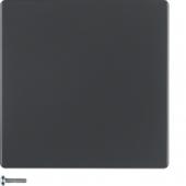 Berker.Net - Кнопка 1-канальная, Q.1/Q.3, цвет: антрацитовый, с эффектом бархата 85141126