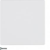 Berker.Net - Кнопка 1-канальная, Q.1/Q.3, цвет: полярная белизна, с эффектом бархата 85141129