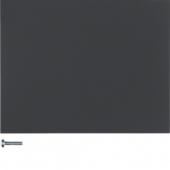 Berker.Net - Кнопка 1-канальная, K.1, цвет: антрацитовый 85141175