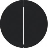 Berker.Net - Кнопка 1-канальная, R.1/R.3, цвет: черный 85142131