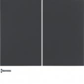 Berker.Net - Кнопка 2-канальная, K.1, цвет: антрацитовый 85142175