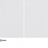 Berker.Net - Кнопка 2-канальная, K.1, цвет: полярная белизна 85142179