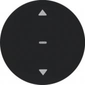 Berker.Net - Кнопка для вставки жалюзи, R.1/R.3, цвет: черный 85241131