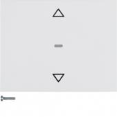 Berker.Net - Кнопка для вставки жалюзи, K.1, цвет: полярная белизна 85241179